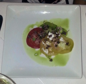 Room 39 Food Heirloom Tomato Salad 2
